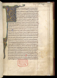 Illuminated Initial, In A Composite Volume Of Texts, Many Relating To Monastic Life f.5r